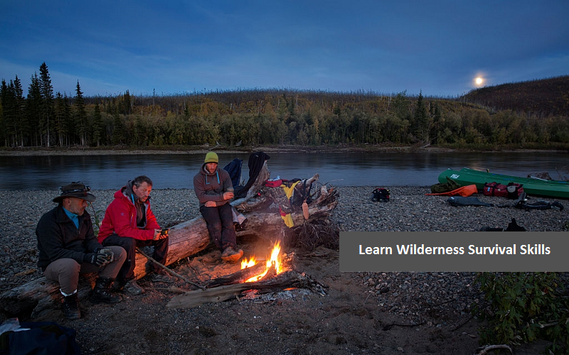 Learn Wilderness Survival Skills