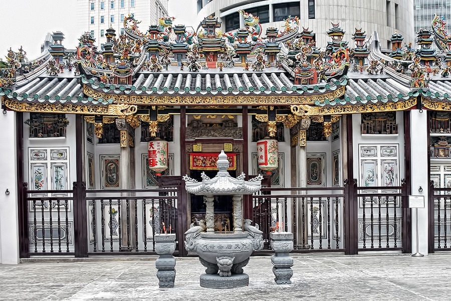 yueh hai ching temple singapore