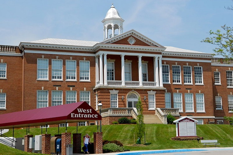 historic eichelberger high school, hanover, pennsylvania