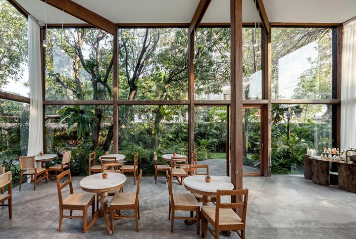 patom organic living destination in Bangkok