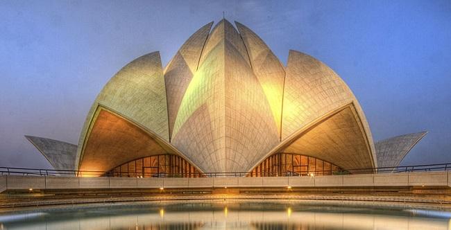 The Lotus Temple delhi india