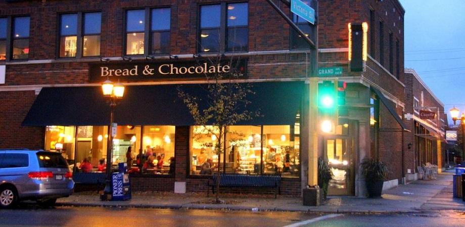 Bread and Chocolate Saint Paul