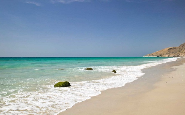 You will love Oman's waves